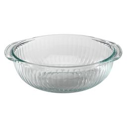 2-qt Sculpted Clear Bowl
