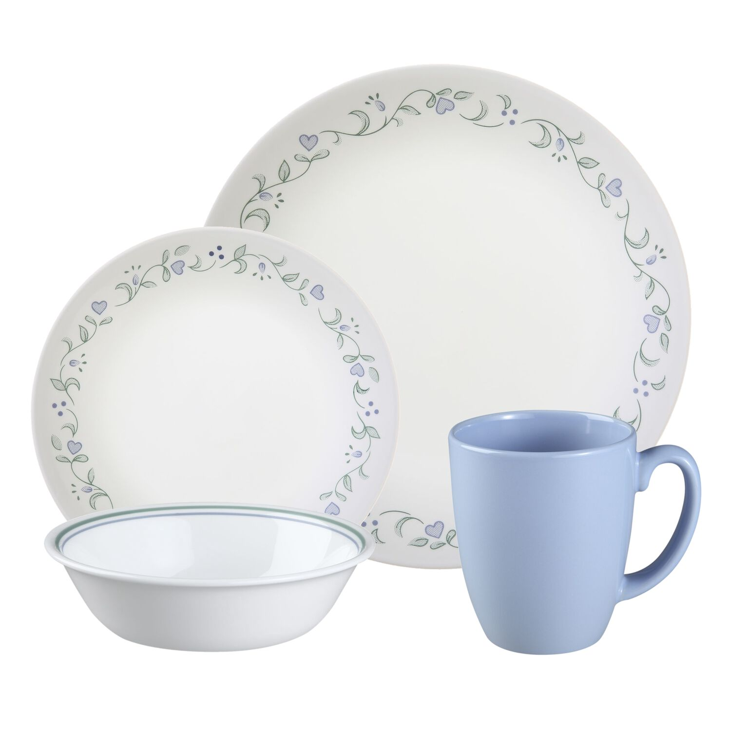 Corelle Dinnerware 16 Piece Set Of Dishes Kitchen Dining