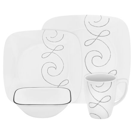 Square™ Endless Thread 16-pc Dinnerware Set