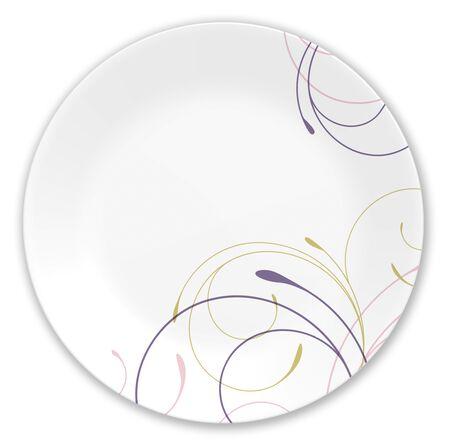 """Impressions™ Violet Dance 8.5"""" Plate"""