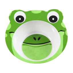 Friendly Faces Melamine Frog Bowl