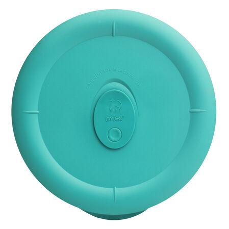 Pro 1.25-qt Round Lid, Turquoise