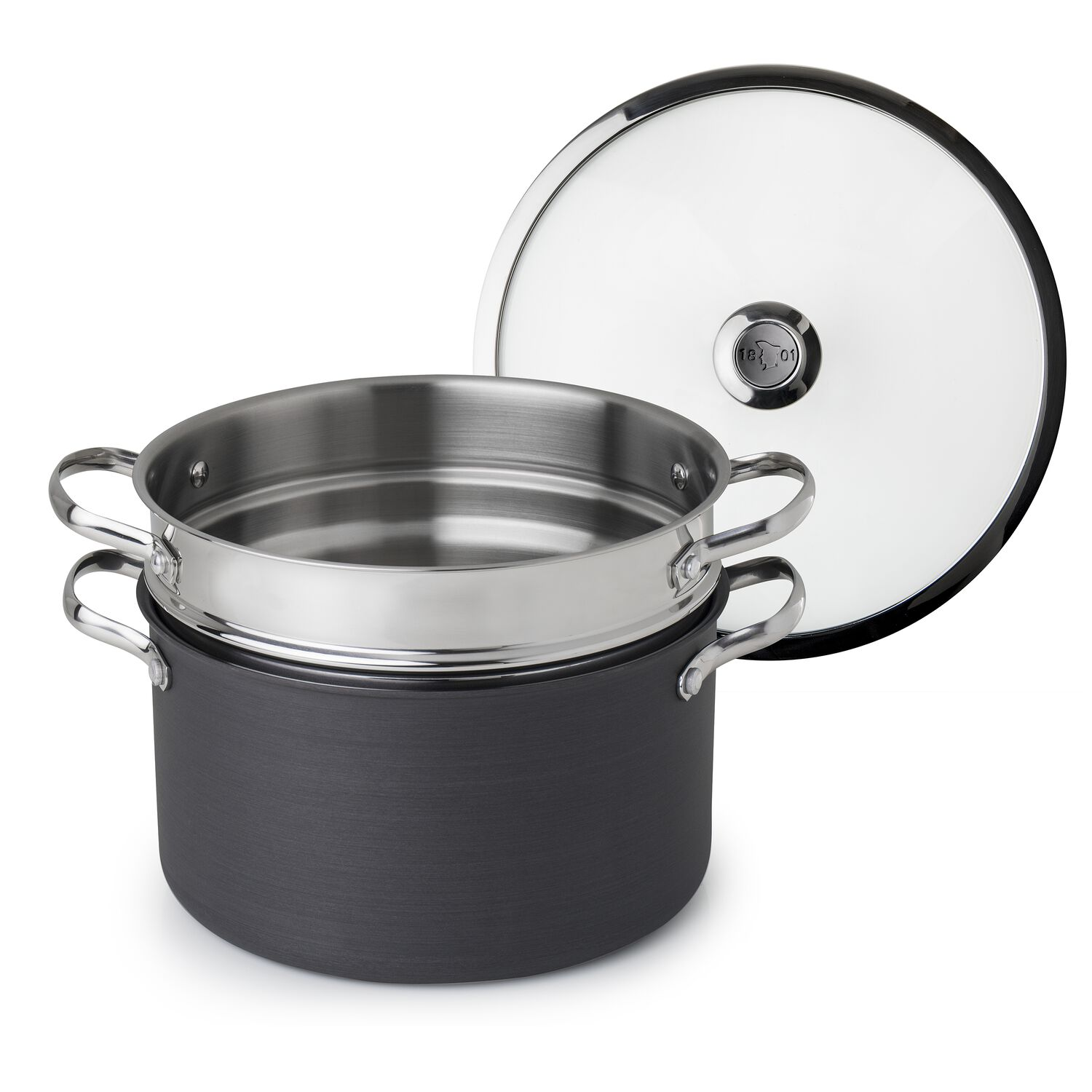 how to clean burnt non stick pot