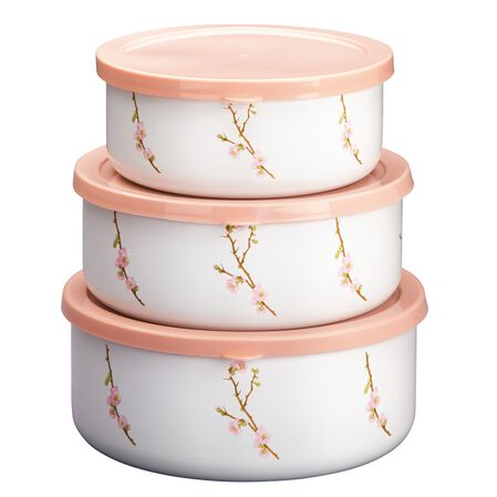 Coordinates® Cherry Blossom 6-pc Bowl Set