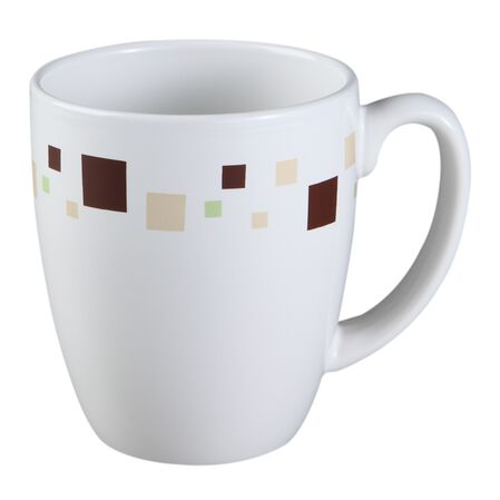 Livingware™ Geometric 11-oz Stoneware Mug