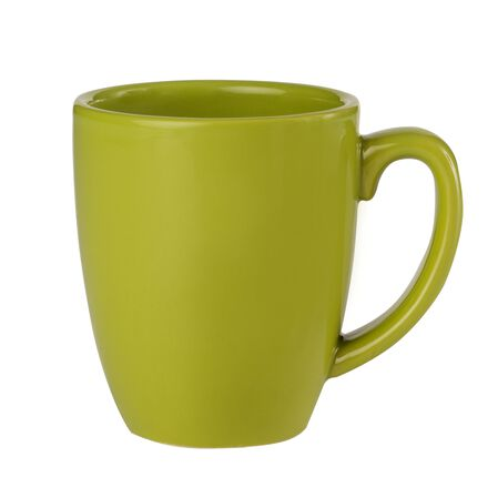 Livingware™ 11-oz Stoneware Mug, Yellow Green