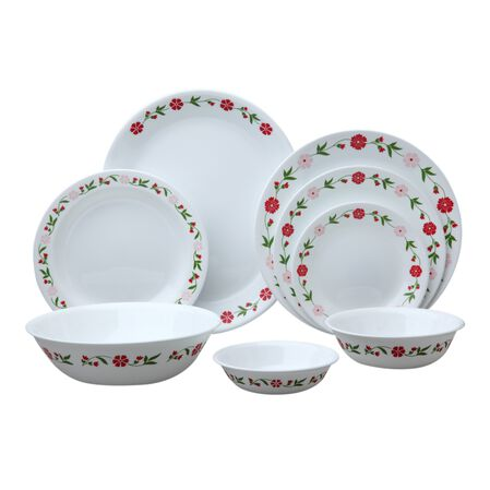 Livingware™ Spring Pink 76-pc Dinnerware Set