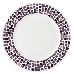 "Boutique™ Precious Colors 10.75"" Plate, Amethyst"