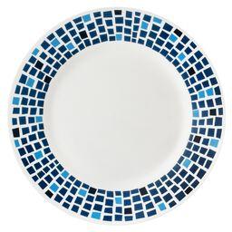 """Boutique™ Precious Colors 10.75"""" Plate, Sapphire Blue"""