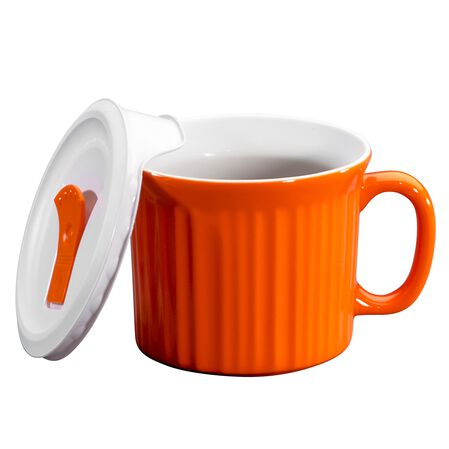 Colours® Pop-Ins® Carrot 20-oz Mug w/ Vented Lid
