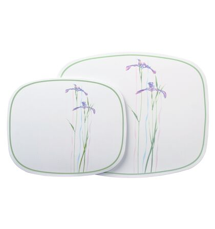 Coordinates® Shadow Iris 2-pc Hot Pad Set