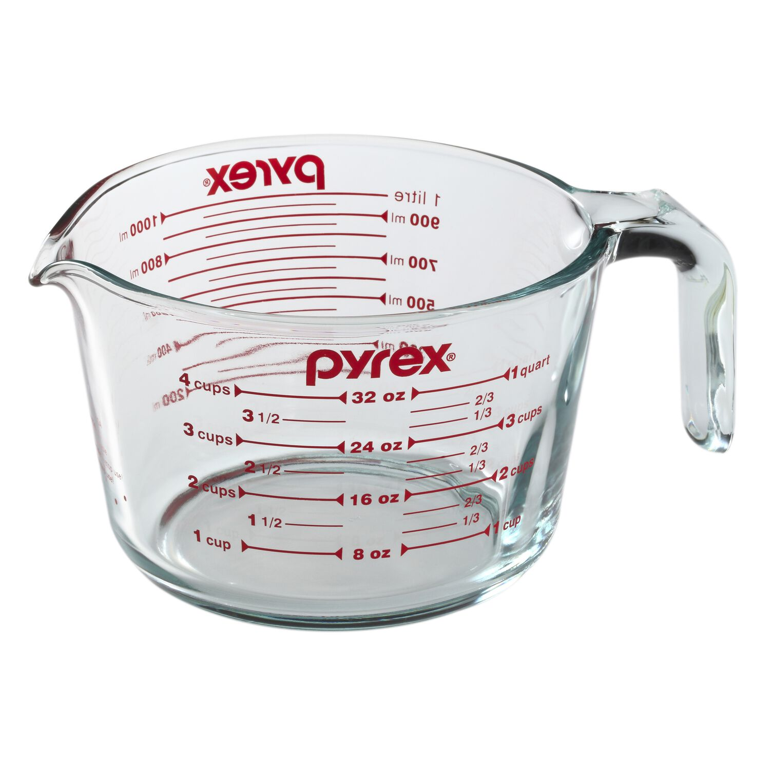 pyrex 4 cup measuring cup pyrex. Black Bedroom Furniture Sets. Home Design Ideas