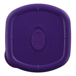 Storage Deluxe™ 4.5 Cup Square Lid, Plum