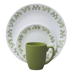 Livingware™ Neo Leaf 16-pc Dinnerware Set
