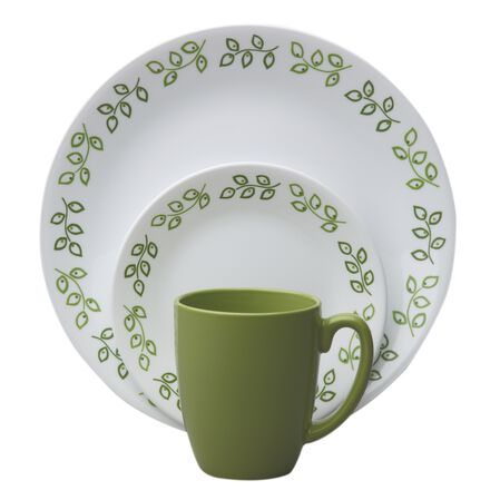 Livingware™ Neo Leaf 16-pc Dinnerware Set