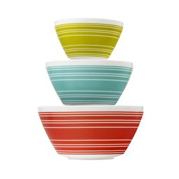 Memory Lane 3-Pc Mixing Bowl Set, inspired by Pyrex®