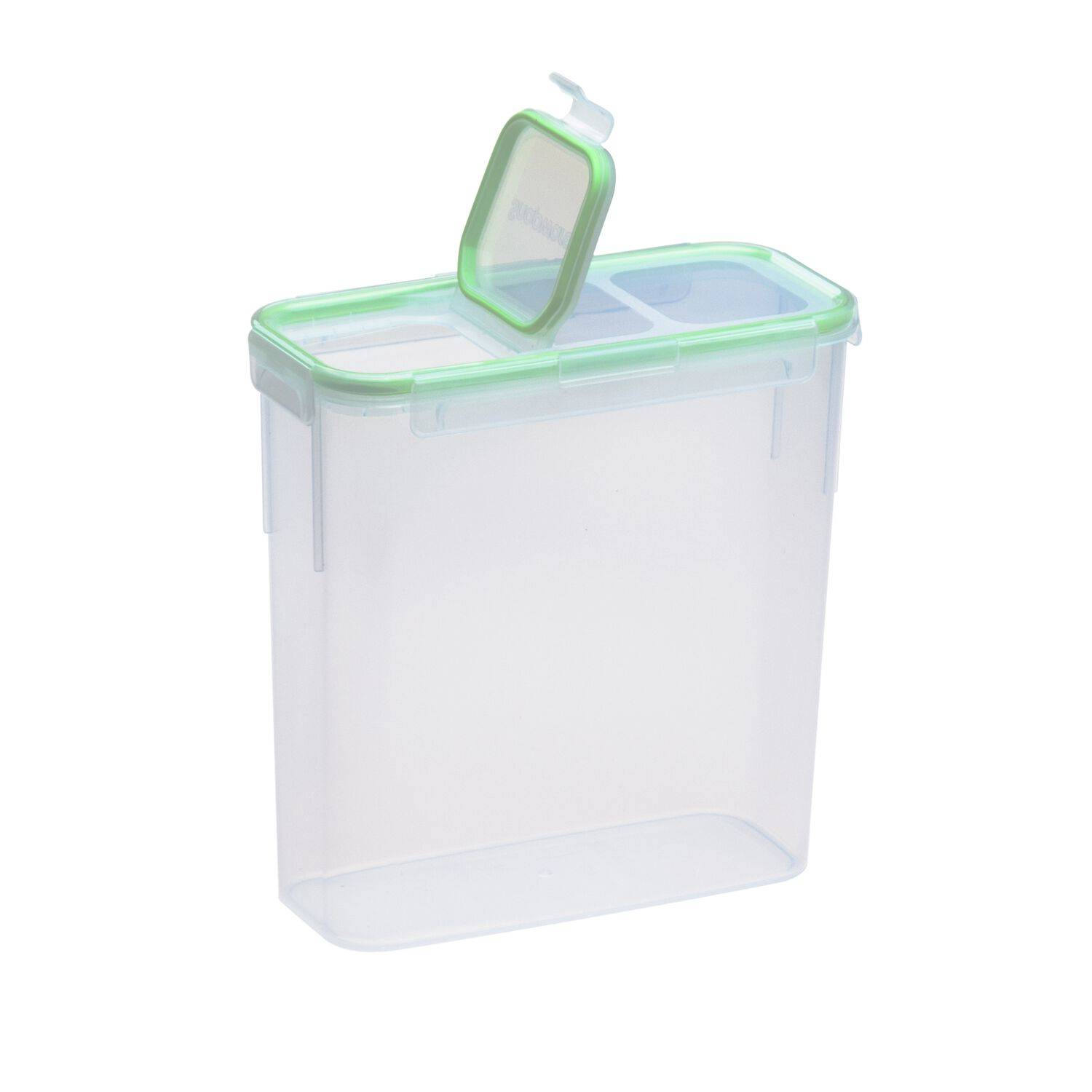Snapware airtight food storage 15 3 cup rectangular slim for Container en francais