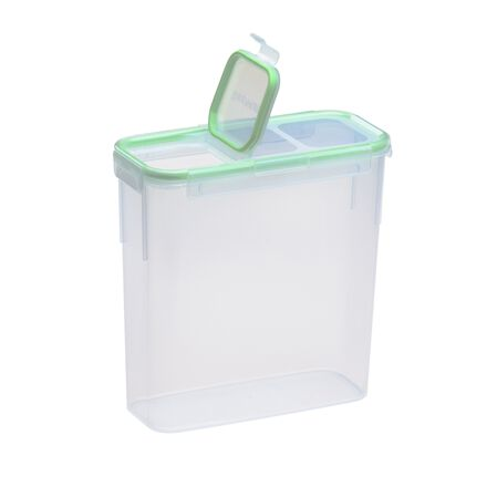 Airtight Food Storage 15.3 Cup Rectangular Slim Container w/ Fliptop Lid
