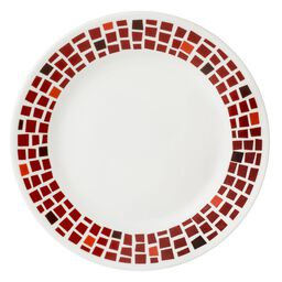 "Boutique™ Precious Colors 8.5"" Plate, Ruby Red"