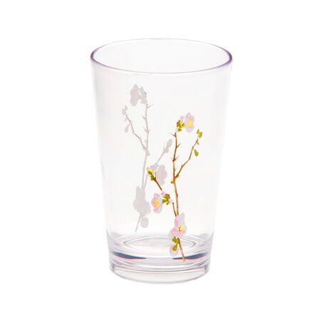 Coordinates® Cherry Blossom 8-oz Acrylic Glass