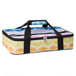 "Multi-geo 16"" Rectangle Casserole Portable / Tote Bag"