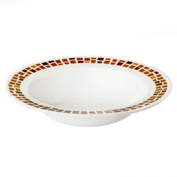 Boutique™ Precious Colors 28-oz Wide Rimmed Bowl, Amber Copper