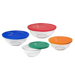 Smart Essentials® 8-pc Mixing Bowl Set