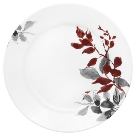 "Boutique™ Kyoto Leaves 8.5"" Plate"