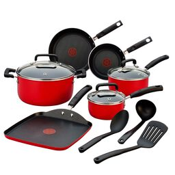 Signature Red 12-pc Cookware Set