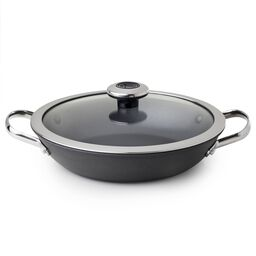 Clean Pan™ 1.9-qt Hard Anodized Aluminum Non-stick Braising Pan w/ Lid