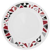 "Livingware™ Mosaic Red 6.75"" Plate"