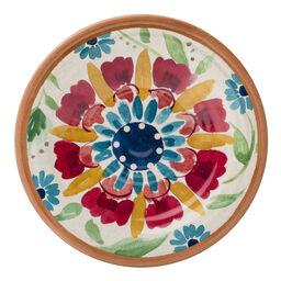 """Southwest Floral Melamine 6.5"""" Plate"""