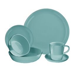 6-pc Pool Dinnerware Set