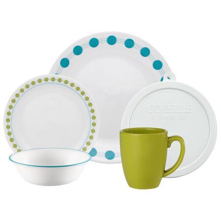 Livingware™ South Beach 20-pc Dinnerware Set w/ Lids