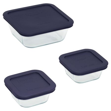 Storage Plus® 6-pc Square Set