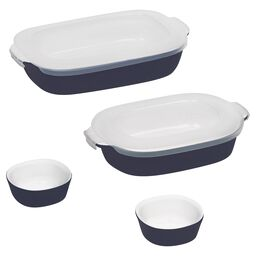 CW by CorningWare™ 6-pc Midnight Blue Bakeware Set w/ Lids
