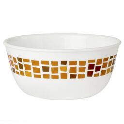 Boutique™ Precious Colors 28-oz Bowl, Amber Copper