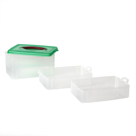 "Snap 'N Stack® 4 Layer 6""x9"" Storage Container"