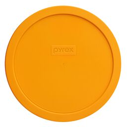 Plastic Lid 1.5-qt Round, Lemon Yellow