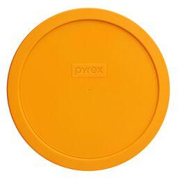 Plastic Lid 1.5-qt Round, Lemon Yellow