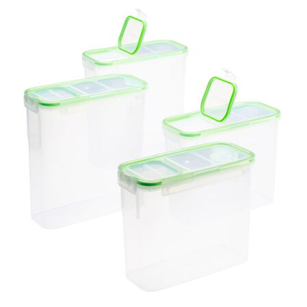 Airtight Food Storage 8-pc Value Pack w/ Fliptop Lids