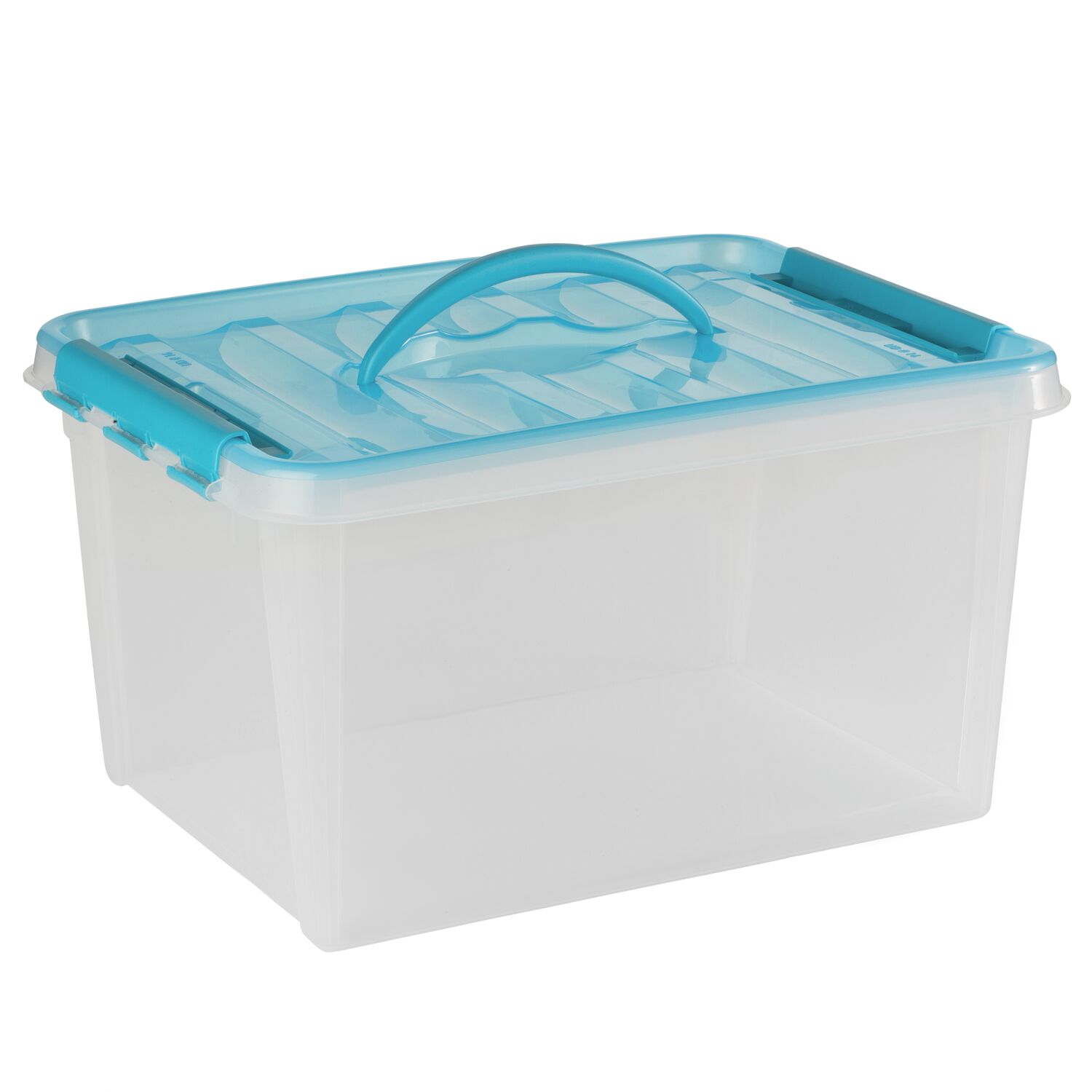 Snapware Smart Store 16 inches X 9 inches Home Storage Container Turquoise Handles