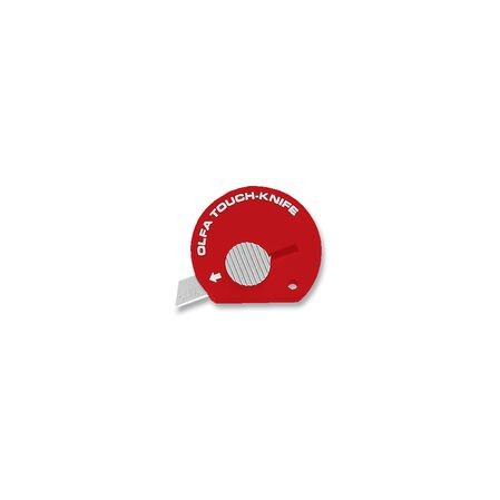 Multipurpose Touch Knife, Red
