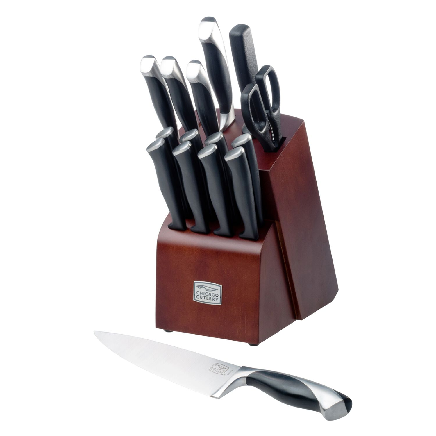 Chicago Cutlery® Fullerton™ 16-Pc Block Set