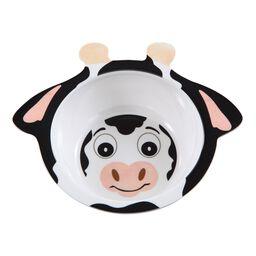 Friendly Faces Melamine Cow Bowl