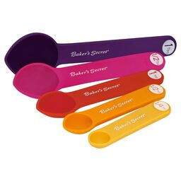 Essentials 5-pc Measuring Spoon Set, Multi-Color