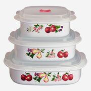 Coordinates® Chutney 6-pc Microwave Set