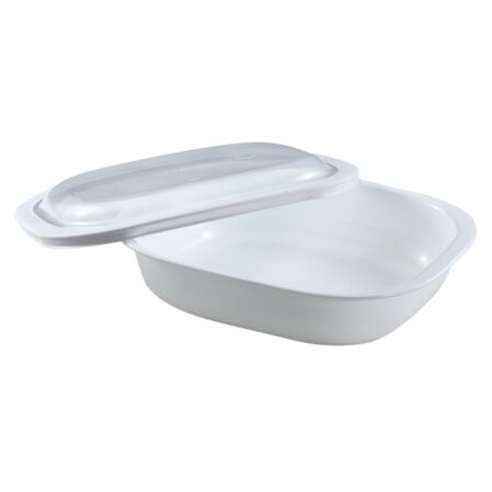 Bake, Serve, Store™ 2-qt Square Bakeware Dish w/ Plastic Cover