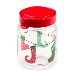 Airtight Food Storage 4.2 Cup Christmas Stocking Canister