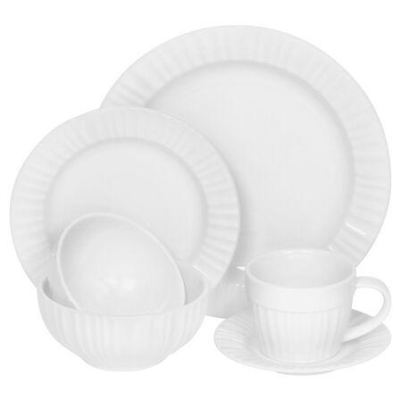 French White® 6-pc Dinnerware Set